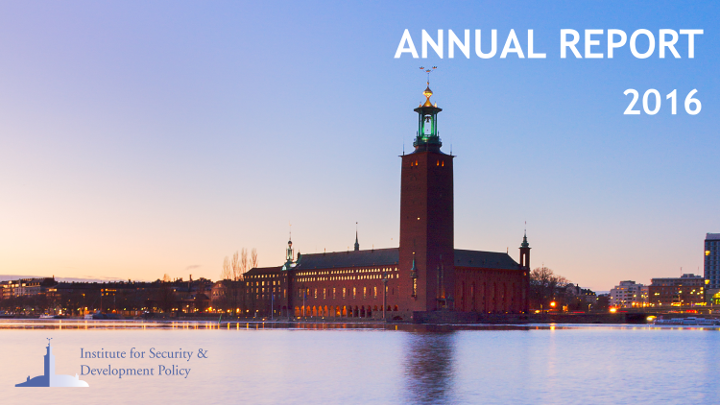 ISDP Annual Report 2016