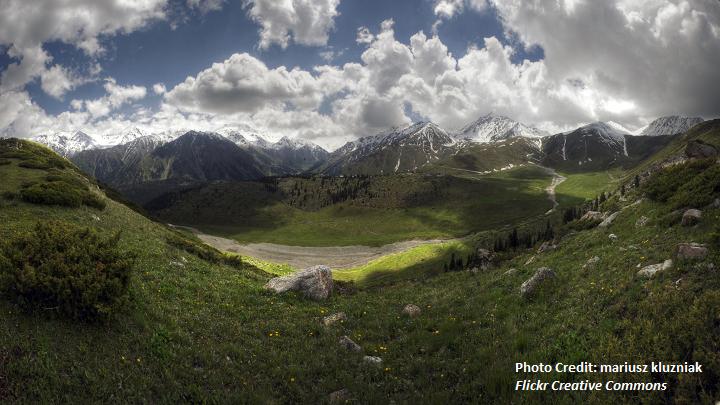 Central Asia (2)- Kazakhstan Landscape