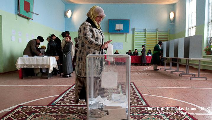 Governance (1)- Ballot Box Kyrgystan