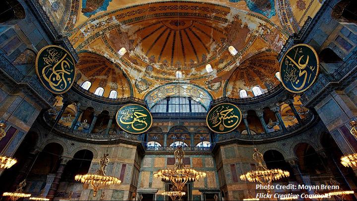 Turkey (2)- Aya Sofia Istanbul- credit
