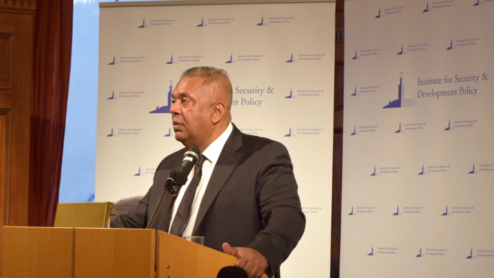 Hon. Mangala Samaraweera, Minister for Foreign Affairs of Sri Lanka, Visits ISDP