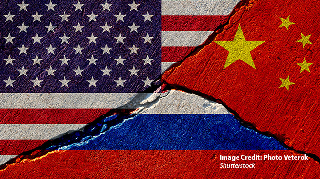 The Enemy of My Enemy is My Friend: Russia China U.S. Relations